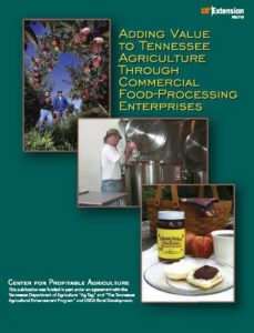 Adding Value to Tennessee Agriculture