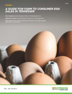 Egg Sales in Tennessee