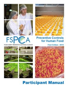 cover for the FSMA - Preventive Controls For Human Foods book