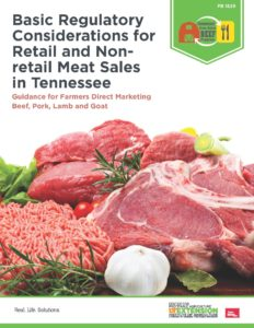 Regulatory Considerations for Meat